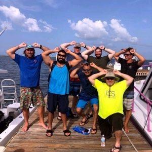 It's Hammerhead season in the Caymans!!